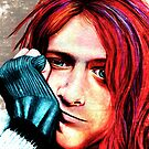 Kurt Cobain - Grungy Version by Shawna Rowe