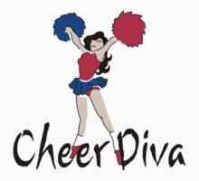 "Cheerleading ""Cheer Diva"" by SportsT-Shirts"