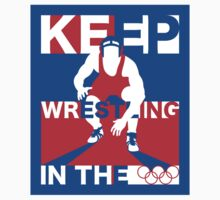 Keep Wrestling Kids Clothes
