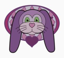 Purple Bunny by Stacey Jean