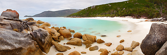 Little Waterloo Bay, Wilsons Promontory, Victoria, Australia by Michael Boniwell