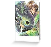 How to train your dragon 'Hug' Greeting Card