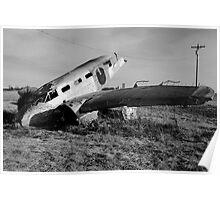 Agricultural Crash Monument Poster