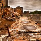 The Ruins of Number Nine - Moonta Mines by jackgreig
