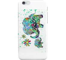blooming elephants iPhone Case/Skin