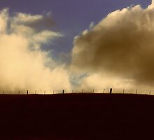 Fenced-in sky by Duncan Cunningham