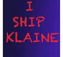 Klaine shipper by aussiecandice