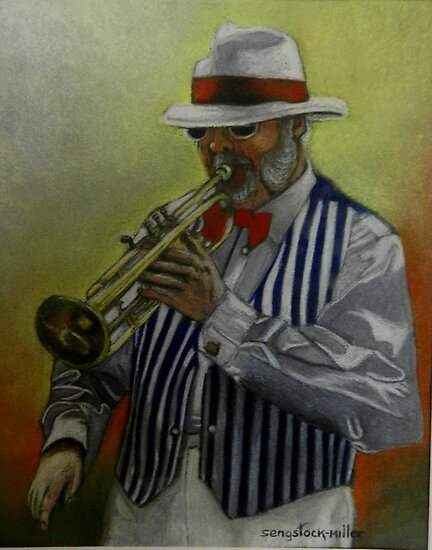 Dixie Music Man by Sandra  Sengstock-Miller