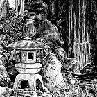Stone Lantern 3, Kanazawa by Sundayink
