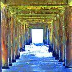 Under the pier. by Naina91