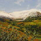 "Landscape Painting - Crested Butte Colorado - 6"" x 8"" Oil Sold by Daniel Fishback"