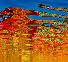 Painted water by raymona pooler