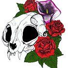 Kitty Skull by kirstenmcnee
