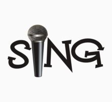 Sing with Microphone by shakeoutfitters