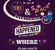 Doctor Who Typography by Risa Rodil