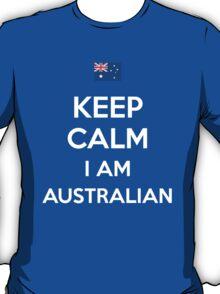 Keep Calm I'M Australian T-Shirt