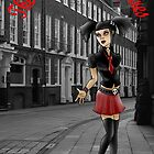 Eve Rosser (the morganville vampires) by darren gowen