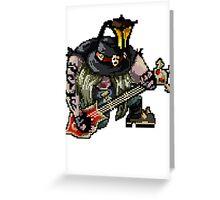 Pixel Pentakill Yorick Greeting Card