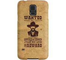 "Wanted Bufford ""Mad Dog"" Tannen Samsung Galaxy Case/Skin"