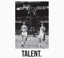 Lebron James. Talent by jclfc