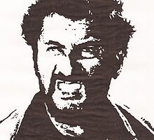Eli Wallach by Ant-Acid