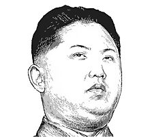 Kim Jong Un Photographic Print