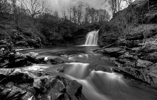 The Falls of Falloch by Roddy Atkinson