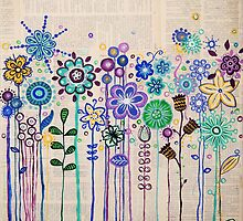 The Flower Patch by Janine Whitling