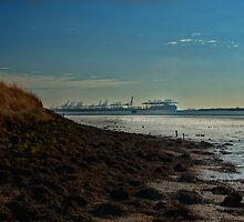 River orwell in haze by simon17