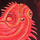 Iguana Big by Achim Klein