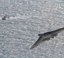 Avro Vulcan XH558 by willgudgeon