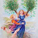 Apollo e Dafne by Francesca Romana Brogani