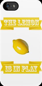 The Lemon is in Play by hannahroar