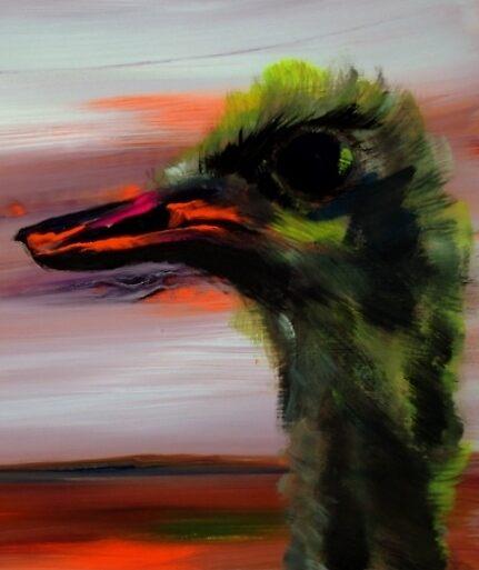 Ostrich by CulturalCompass
