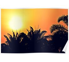 The sun is going down Poster