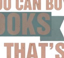 Books=Happiness Sticker