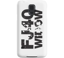 Fj40 Widow Bold Splat Samsung Galaxy Case/Skin