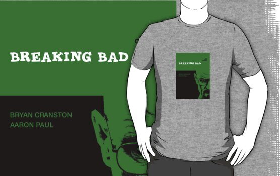 Breaking bad retro Tee by dgoring
