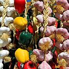 Peppers and Garlic by debidabble