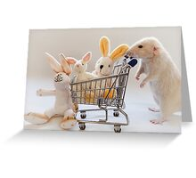 Preparing for Easter Greeting Card