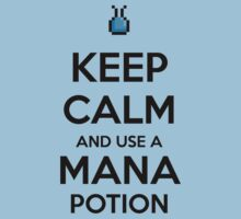 Keep Calm and use a Mana Potion Kids Clothes