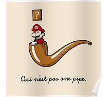 This is Not a Pipe Poster