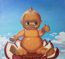 Buddha Baby by Laura Brikmanis