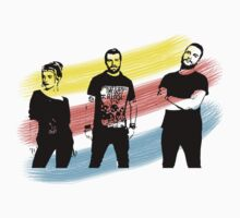 Paramore Three Stripes  by AdvOfRoadkill