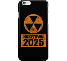 CALL OF DUTY BLACK OPS 2 - NUKE TOWN 2025 - DISTRESSED LOOK iPhone Case/Skin
