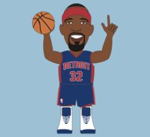 NBAToon of Richard Hamilton, player of Chicago Bulls by D4RK0