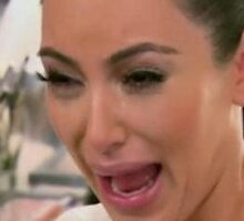 Kim Kardashian Crying (fixed) by UberPBnJ