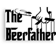 The Beerfather Canvas Print