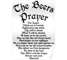 The Beers Prayer Poster