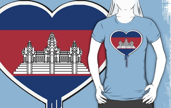 THE KINGDOM OF CAMBODIAN BLEEDING HEART by SOL  SKETCHES™